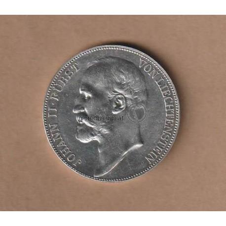5 Kronen 1900 FL Johann II.