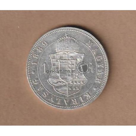 1 Forint/Gulden 1889