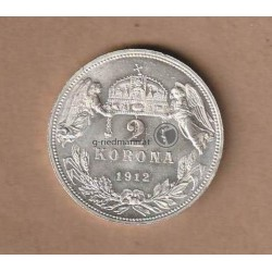 2 Kronen Ungarn 1912