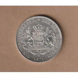 1 Vereinstaler Bayern 1871 Ludwig II.