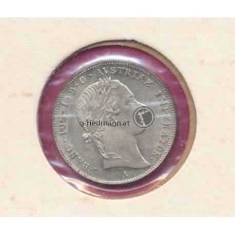 10 Kreuzer 1853A (Kaiser Franz Joseph I.)