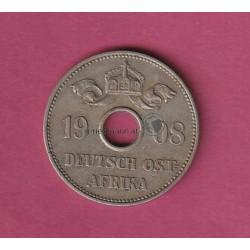 10 Heller 1908 Deutsch-Ostafrika