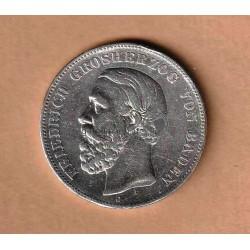 5 Mark 1876 Baden