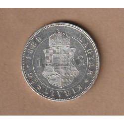 1 Forint (1 Gulden) 1888 K.B.