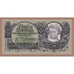 50 Schilling Banknote